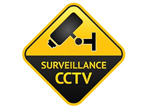 Surveillance CCTV Sign