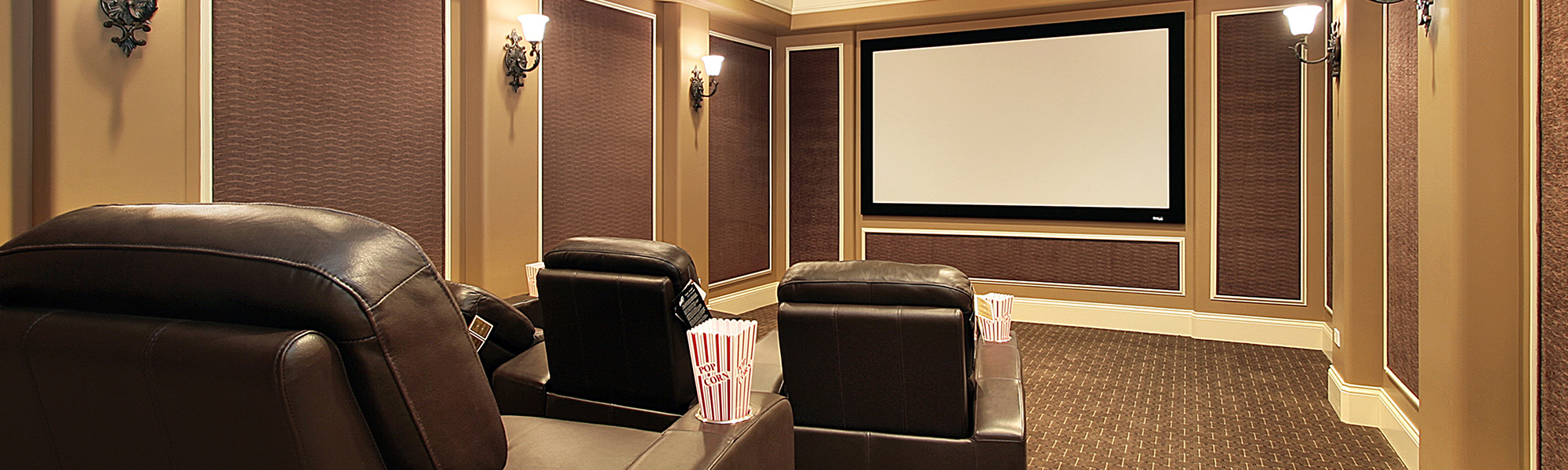 Residential Entertainment Room